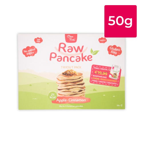 Tryout RawPancake Appel-Kaneel