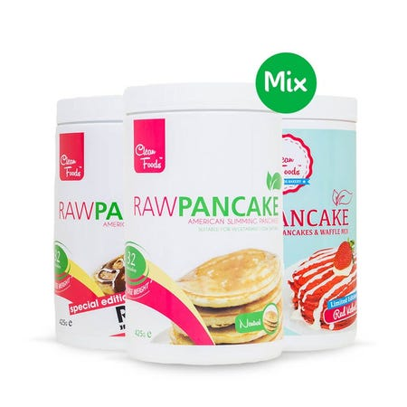 3x RawPancake Mix