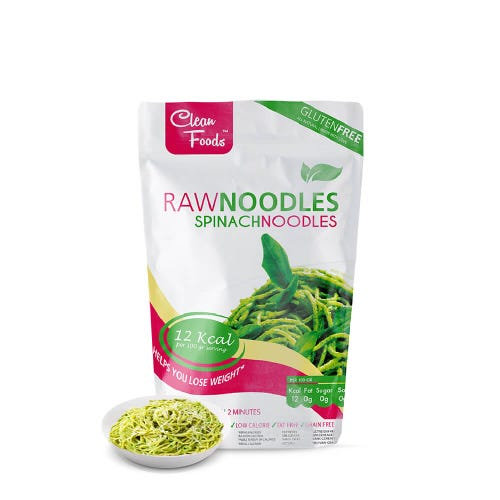 RawNoodles Spinazie